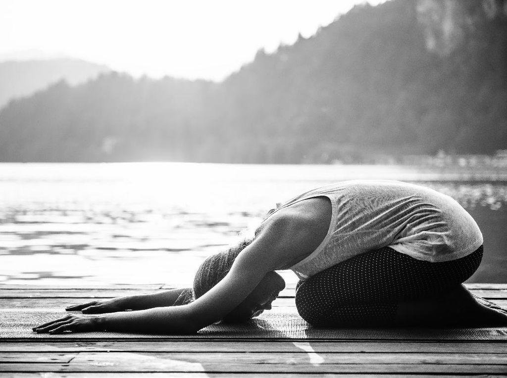 Yoga Sambil Makan Cokelat, Kenapa Nggak?