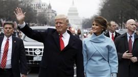 Gaun Inagurasi Melania Trump Diubah Jadi Kostum Halloween
