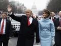 Donald Trump Resmi Tempati Gedung Putih