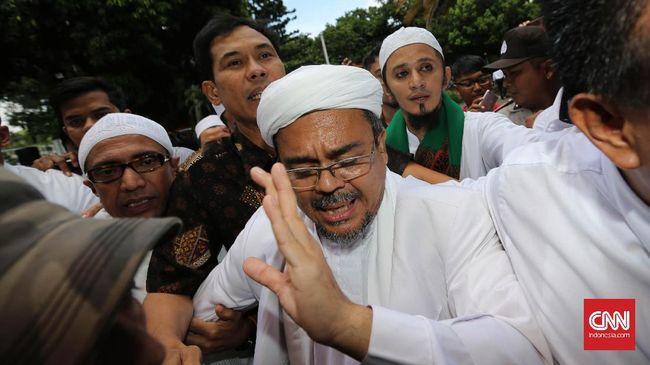 Rizieq: Jokowi Tegakkan Keadilan, Bukan Fokus Pencitraan