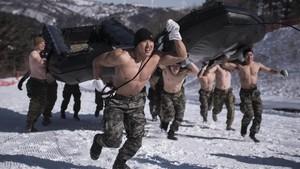 Kekurangan Lelaki, Korsel Berencana Pangkas Jumlah Tentara