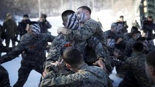 Abaikan Ancaman Korut, AS-Korsel Lanjutkan Latihan Perang