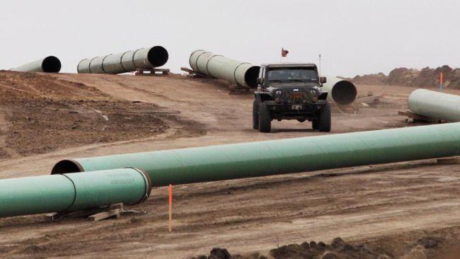 AS Akan Berikan Izin Final Pembangunan Jalur Pipa Dakota