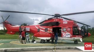 Cegah Kebakaran Hutan Riau, APP Sinar Mas Sewa 3 Super Puma