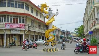 Menteri Agama Membuka Perayaan 'Cap Go Meh' di Singkawang
