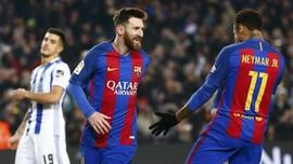 Neymar ke Messi: Selamat Ulang Tahun Saudaraku