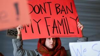 Larangan Imigrasi Trump Rugikan Muslim Indonesia
