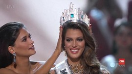 Kontestan Perancis Sabet Gelar Ratu Kecantikan Sejagad