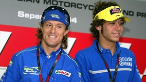 Duel Rossi vs Gibernau di Jerez Bikin MotoGP 'Kotor'
