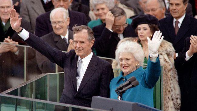 Barbara Bush Meninggal Dunia di Usia 92 Tahun