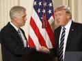 Trump Pilih Tokoh Konservatif sebagai Hakim Agung