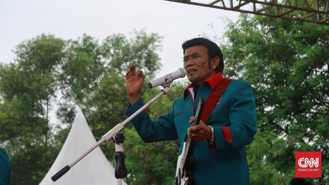 Partai Idaman Ditolak KPU, Rhoma Irama Minta Kader Tenang