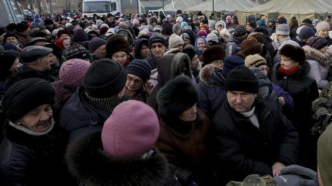 Ukraina dan Separatis Pro-Rusia Saling Tukar Ratusan Tawanan