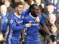 Hazard Puas Cetak Gol Indah ke Gawang Arsenal