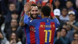 Gol Ke-100 Barca Musim Ini Diciptakan Aleix Vidal