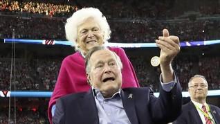 Kesehatan Menurun, Barbara Bush Tak Cari Opsi Medis Tambahan