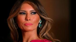 Kelar Operasi Ginjal, Melania Trump Pulang ke Gedung Putih