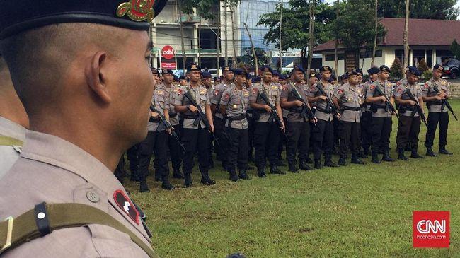 180 Personel Brimob Polda Kalbar Dikirim ke Papua