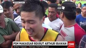 PSM Makassar Rekrut Arthur Irawan