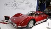 Mobil sport klasik tak luput dari jajaran kendaraan klasik yang turut menyemarakkan pameran mobil Retromobile. (REUTERS/Benoit Tessier)