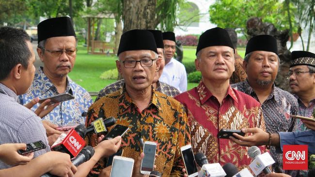 Muhammadiyah Minta Jokowi-Prabowo Bertemu Damaikan Suasana