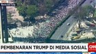 Pembenaran Trump di Media Sosial