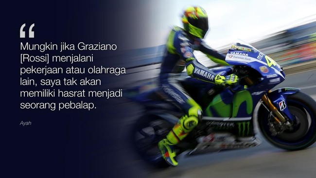Kata Bijak Valentino Rossi Celoteh Bijak