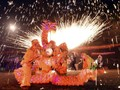 Naga Merah Dominasi Festival Lampion China