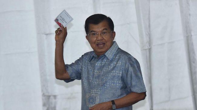 JK Temui Megawati di Teuku Umar
