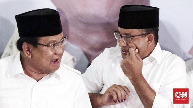 Gerindra Tepis Isu Anies Jadi Cawapres Prabowo