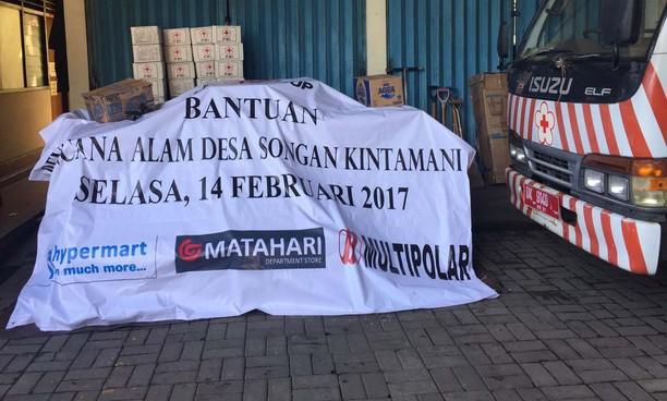 Lippo Group Salurkan Bantuan untuk Korban Longsor Kintamani