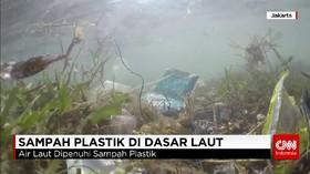 Sampah di Dasar Laut Indonesia