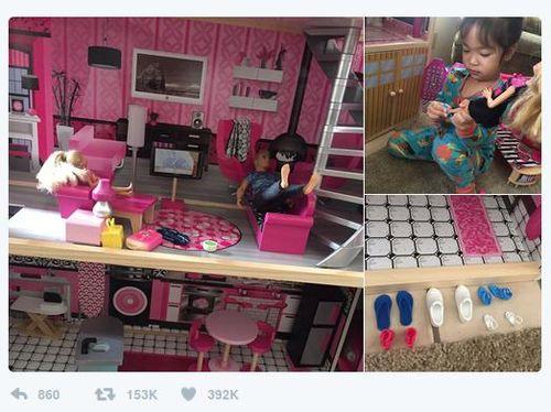 Sosok Bocah di Balik Kisah Barbie Lepas Alas Kaki yang Viral