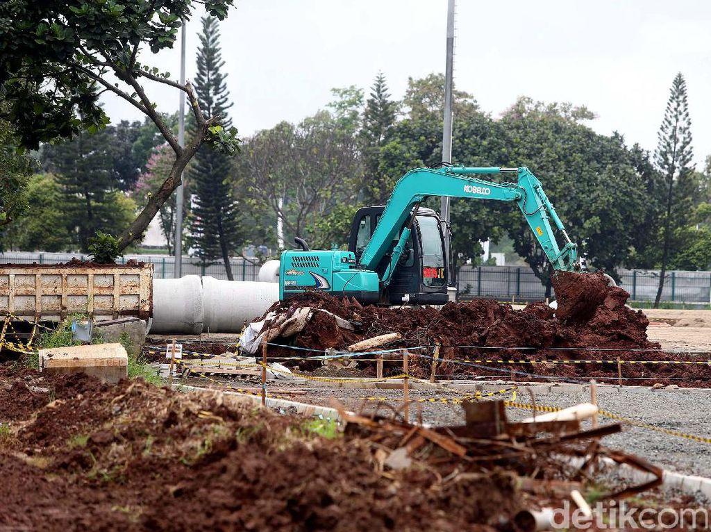 Progres rehabilitasi Istora Gelora Bung Karno (GBK) hingga akhir Januari 2017 telah mencapai 22,8% dari rencana 25,4%.