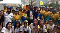 Sementara, menurut ketua YOAI, kampanye tersebut bertujuan meningkatkan kepedulian masyarakat serta meluruskan kesalahpahaman mengenai penyakit kanker. Ia memberi contoh mengenai kanker anak tidak dapat disembuhkan, padahal kanker anak dapat disembuhkan jika diketahui saat stadium awal. (Foto: Puti)