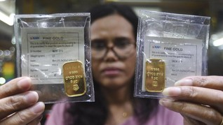 Adu Kilap Investasi Emas Batangan dan Perhiasan