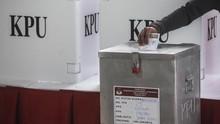 KPU Nyatakan 'Kotak Kosong' Berkurang Jadi 12 Daerah