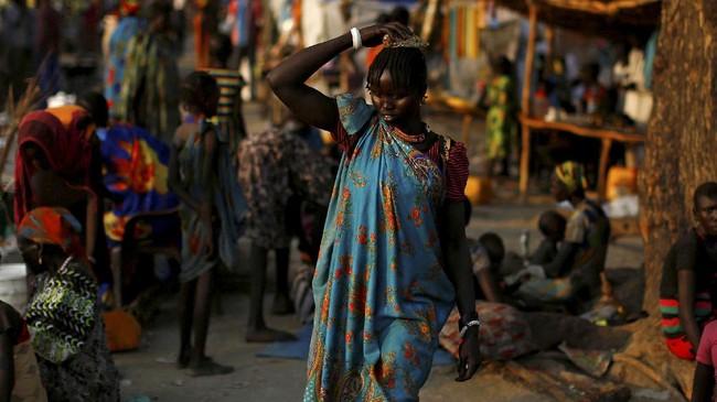 Begitu parahnya masalah ini, Badan Pengungsi Perserikatan Bangsa-Bangsa (UNHCR) sampai-sampai mengatakan bahwa Sudan Selatan bisa jadi negara yang menghadapi krisis pengungsi terbesar di Afrika dan ketiga di dunia. (Reuters/Siegfried Modola)