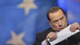 Berlusconi Gugat Larangan Menjabat ke Pengadilan HAM Eropa