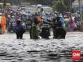 Banjir Mengepung Bekasi