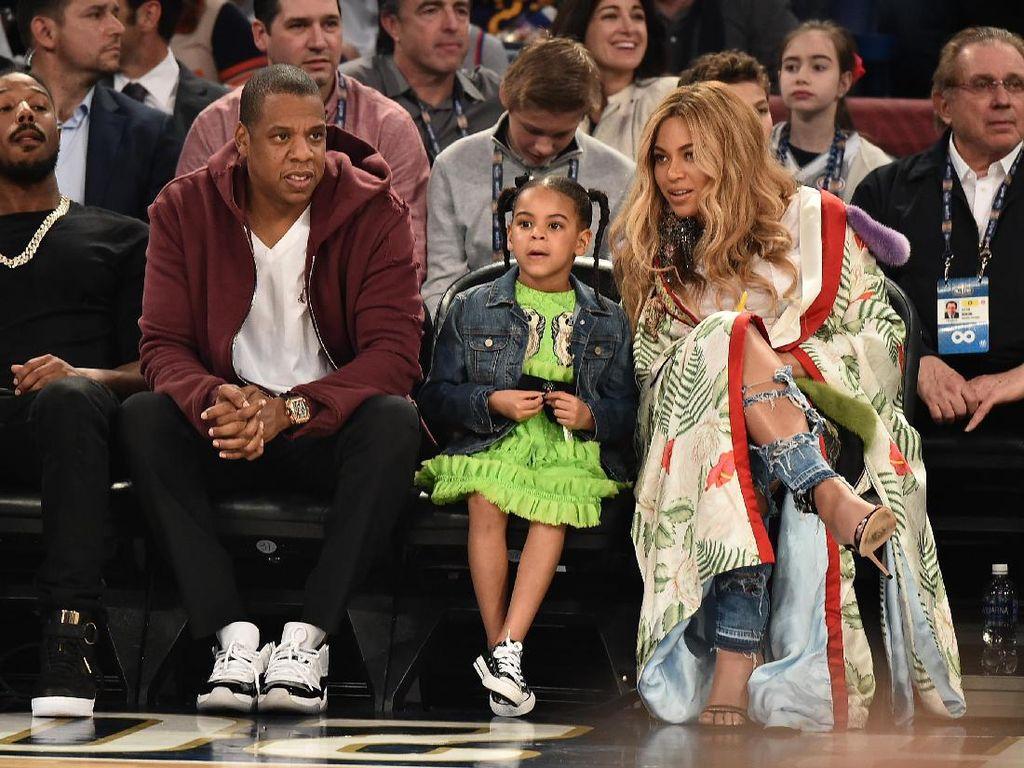 Viral, Reaksi Blue Ivy Nonton Video Seksi Beyonce dan Jay Z