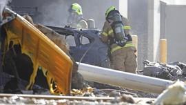 Pesawat Baling-Baling Jatuh di Texas, 10 Orang Tewas