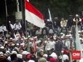 Massa Aksi 299 dari Luar Jakarta Tiba di Istiqlal