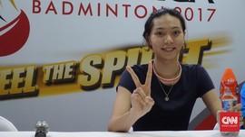 Indonesia Open 2019: Gloria Widjaja Gemar Koleksi Sepatu