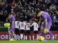Real Madrid Tertinggal 1-2 dari Valencia di Babak Pertama