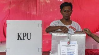 DPS Pemilu 2019, KPU DKI Tetapkan 7,2 Juta Pemilih