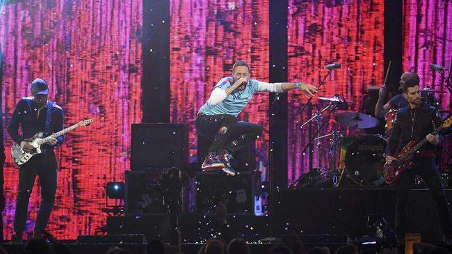 Pakai Nama Baru, Coldplay dan Pharrell Williams Berkolaborasi