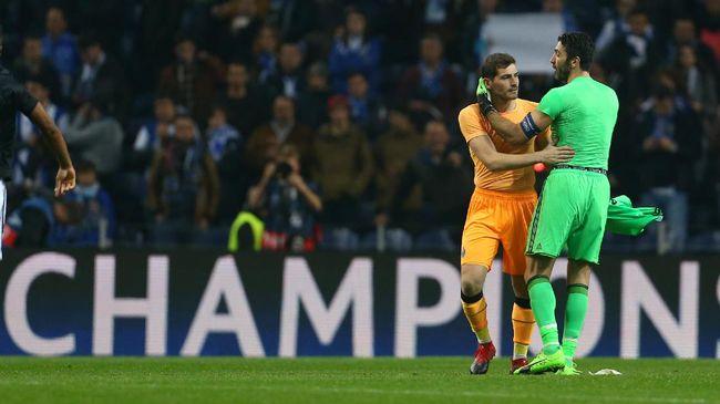 Casillas Ungkap Isi Pembicaraan dengan Buffon