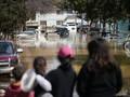 California Terkepung Banjir, Ribuan Orang Dievakuasi