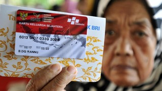 Belum Tutup Tahun, Dana Bansos 'Jokowi' Hampir Ludes